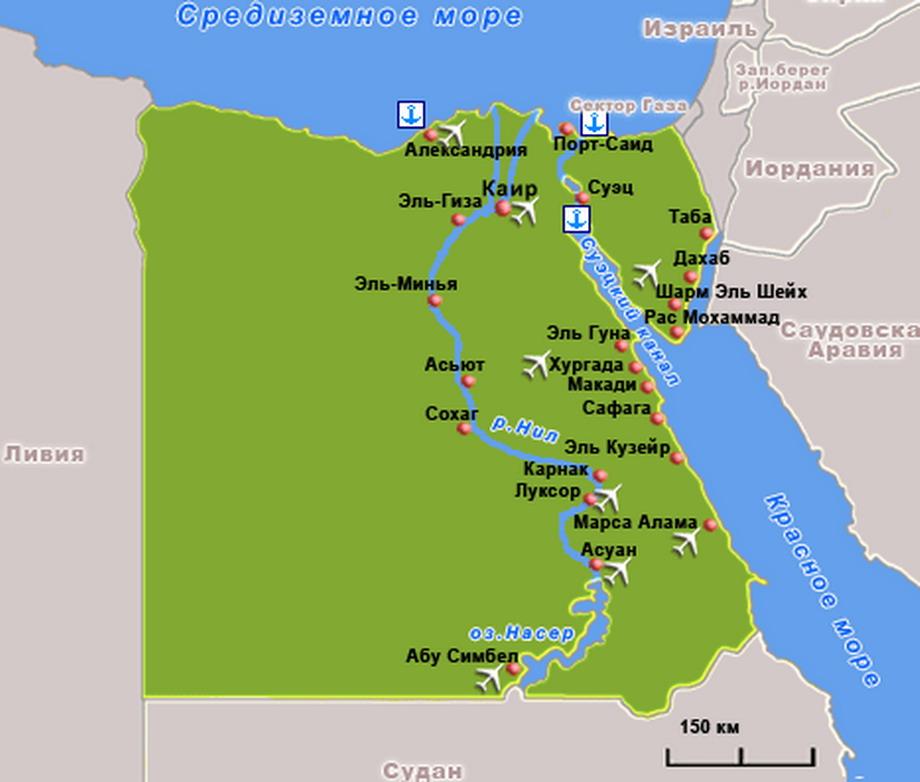 Egipet-karta