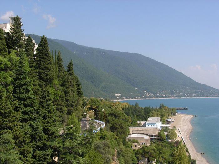 Пансионаты Абхазии
